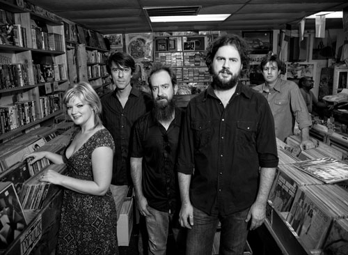 Drive-By Truckers Shonna Tucker, Mike Cooley, Brad Morgan, Patterson Hood, John Neff.