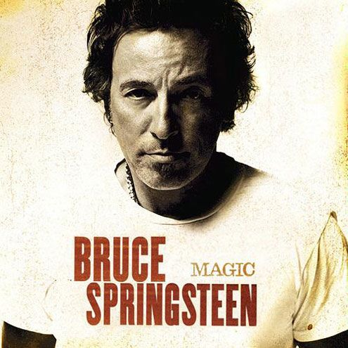 bruce springsteen magic album cover. Magic (2007)