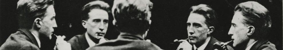 Coraline-theme----Unidentified-Artist--Portrait-multiple-de-Marcel-Duchamp-(Five-Way-Portrait-of-Marcel--Duchamp)--1917
