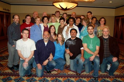 NEA Fellows in Los Angeles, April 24, 2009