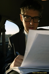Nancy Updike photo of Ira Glass appropriated from This American Life's marvelous website.