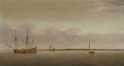 Abraham de Verwer (Dutch, c. 1585 - 1650) View of Hoorn, c. 1645