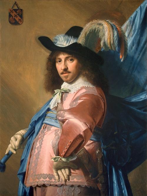 Johannes Cornelisz Verspronck, Andries Stilte as a Standard Bearer, 1640