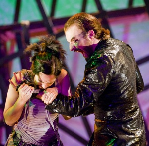 Amy Quiggins and Ben Cunis's Fortinbras.