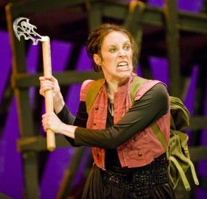 Katie Atkinson as Lady M.