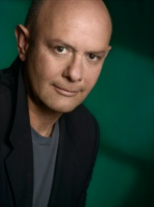 Nick Hornby photographed by Sigrid Estrada