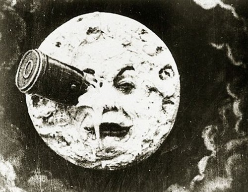 "Georges Méliès' ""A Trip to the Moon,"" 1902."