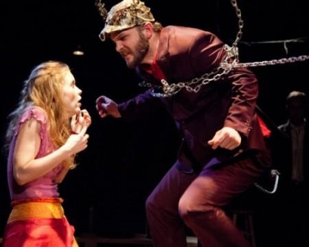 Sara Dabney Tisdale and David Zimmerman play half-human half-siblings