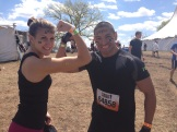 Leslie and Antonio. I recommend having a chick from Detroit and a Marine, respectively, on your Tough Mudder team.