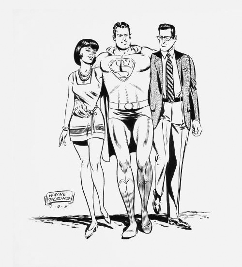 Wayne Boring Superman