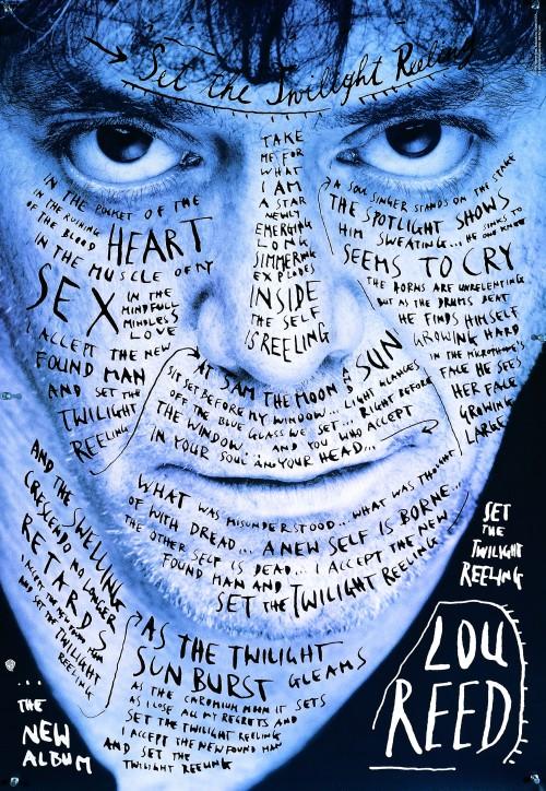 Lou Reed SET THE TWILIGHT REELING