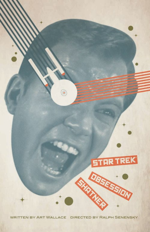 "One of the posters Juan Ortiz has created for each episode of original-series ""Star Trek."""