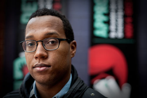 Branden Jacobs-Jenkins (Darrow Montgomery/Washington City Paper)