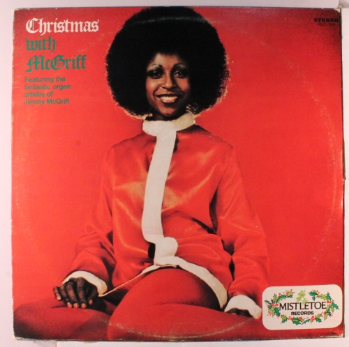 Christmas with Jimmy McGriff front
