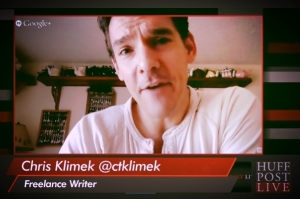 Klimek on HuffPost Live 2013-12-17