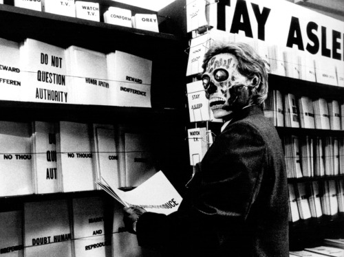"In ""They Live,"" special Wayfarers reveal the subtext of the industrialized world."