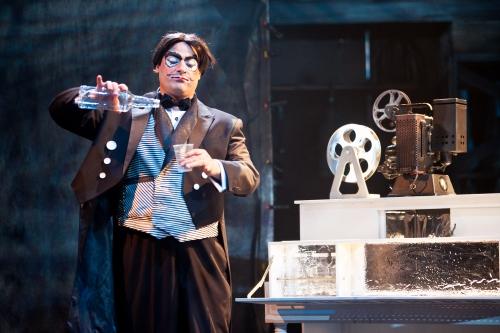 Irakli Kavsadze as Malvolio. (Koko Lanham)