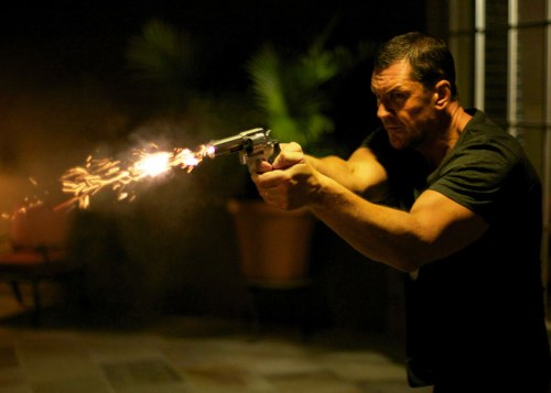 "Flame-Spitting Revolver and Craig Fairbrass co-star in ""The Outsider."""