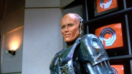 "Peter Weller in ""RoboCop"" '87."