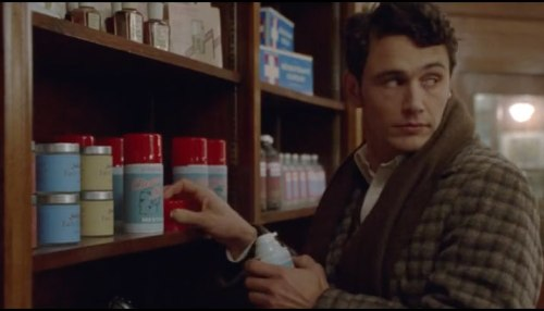 "James Franco in Carter's ""Maladies."""