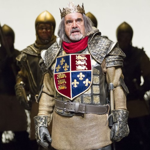 "Edward Gero as King Henry IV in the Shakespeare Theatre's repertory of ""Henry IV, Part 1"" and ""Part 2,"" directed by Michael Kahn."