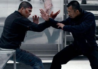 "Iko Uwaisand Cecep Arif Rahman in ""The Raid 2."
