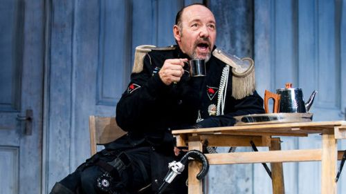 "Kevin Space as ""Richard III"" at the Old Vic, London, 2011."