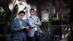 "Rob Brydon and Steve Coogan in ""The Trip to Italy."""
