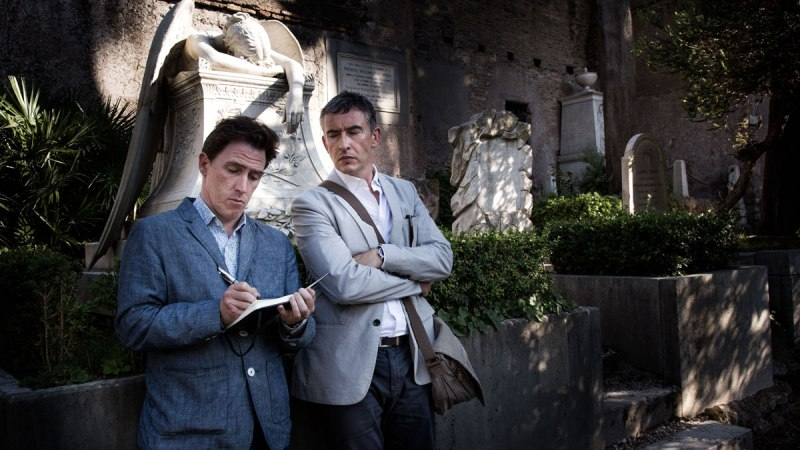 """Rob Brydon and Steve Coogan in """"The Trip to Italy."""""""