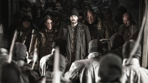 "Chris Evans in ""Snowpiercer."""