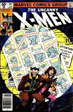 The Uncanny X-Men 141, Jan. 1981