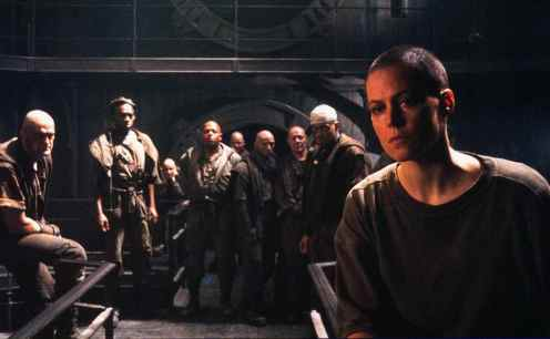 The ambitious but doomed Alien 3, for which Sigourney Weaver was persuaded to shave her head. The making-of documentary Wreckage and Rage in the Alien Quadrilogy Blu-ray set is better than the film itself.