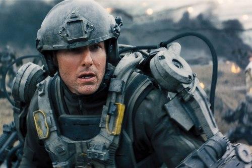 "Tom Cruise in Doug Liman's ""Edge of Tomorrow."""