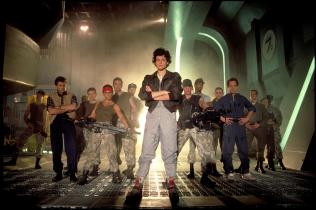 """I bet all my chips on Sigourney Weaver and the cast of James Cameron's """"ALIENS,"""" the 6th-best summer blockbuster."""