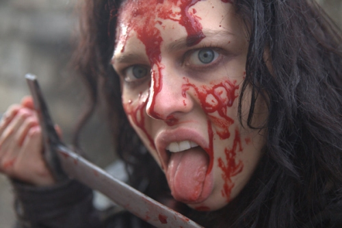 "What's in a name? Twinnie Lee Moore (!) as Crazy Mary (!!) in ""Ironclad: Battle for Blood."""