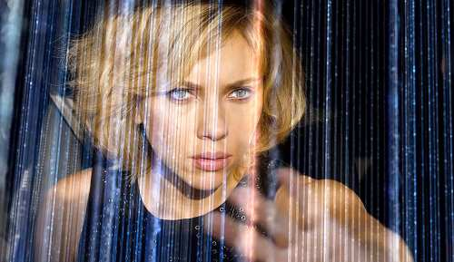 """Scarlett Johansson in Luc Besson's """"Lucy."""""""