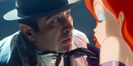 "Bob Hoskins and Jessica Rabbit. I'd basically forgotten Robert Zemeckis' 1988 ""Who Framed Roger Rabbit?"" existed."