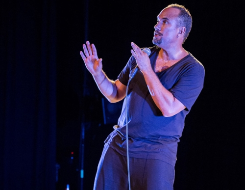 "Roger Guenveur Smith performs his haunting and perceptive 65-minute monologue ""Rodney King."""