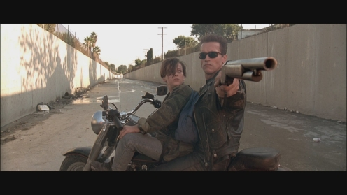 """""""A boy and his Terminator,"""" writer-director James Cameron told T2 cowriter William Wisher."""