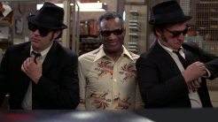"I fought for John Landis' ""The Blues Brothers"" (1980), to no avail."