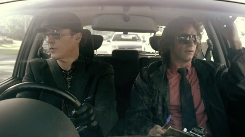 John Cusack and Thomas Jane are both slumming in the low-budget chase flick Drive Hard.
