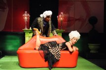 """Gavin Lawrence and Kimberly Gilbert in """"Marie Antoinette."""" (Stan Barouh)"""