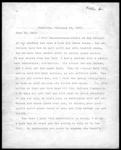 Smokin' hot 1907 letter from Helen Keller to Alexander Graham Bell