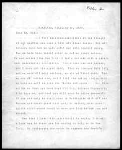 Smokin' hot 1907 letter from Helen Keller to Alexander Graham Bell
