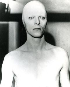 "David Bowie in Nic Roeg's ""The Man Who Fell to Earth."""