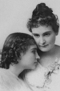 Helen Keller and Anne Sullivan, undated photo.