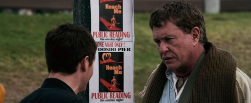"Kevin Connolly and Tom Berenger in John Herzfeld's ""Reach Me."""