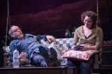 Sad to the Bone: Eric Hissom and Judith Ingber as Astor and Sonia. (C. Stanley Photography)