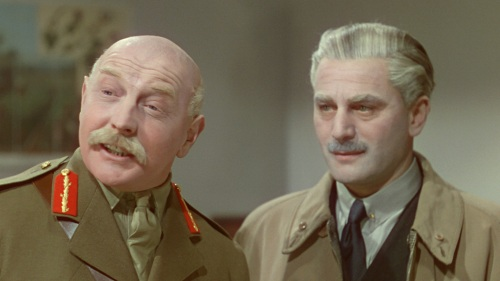 "Roger Livesey and Anton Walbrook in ""The Life and Death of Colonel Blimp."""