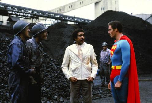 """Superman III,"" 1983. Never happened, per Bryan Singer, which is a shame."
